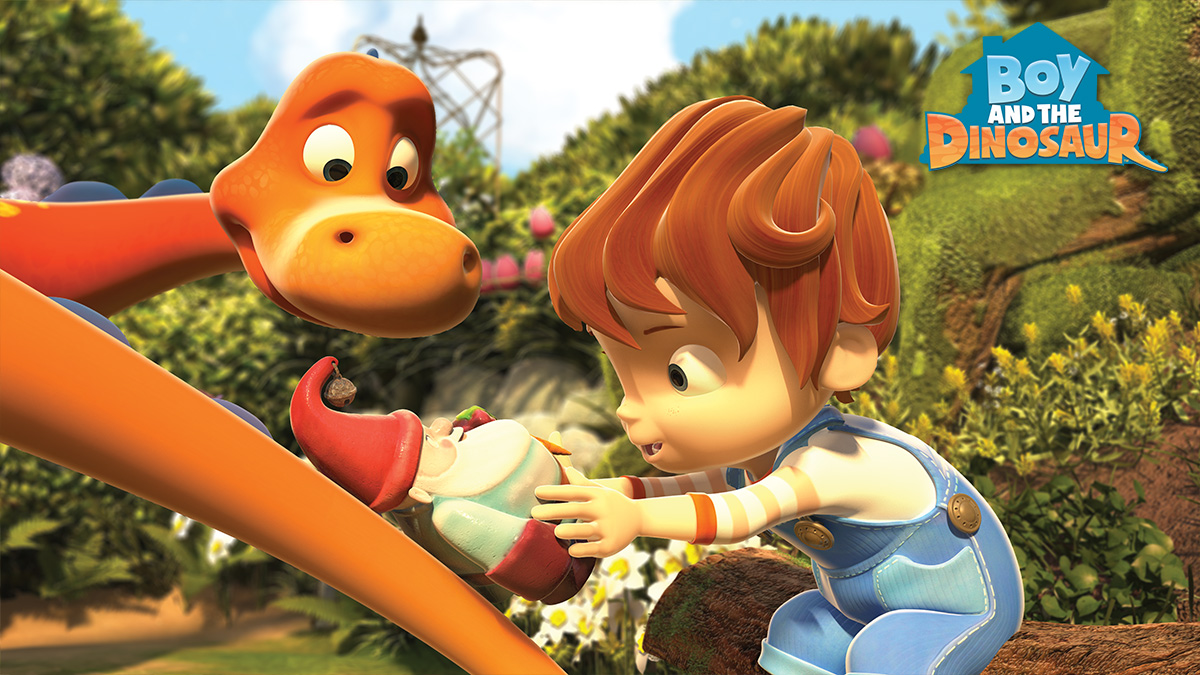 boy and the dinosaur 3d animation manchester by studio distract