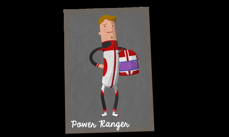 powerRanger