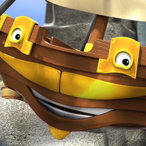 Captain Splash the Pirate Ship